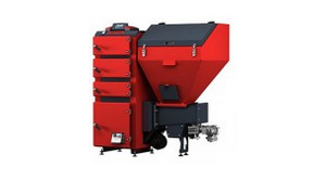 Piece podajnikowe Defro 16 kW do ogrzewania 160 m²