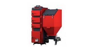 Piece podajnikowe Defro 15 kW do ogrzewania 150 m²