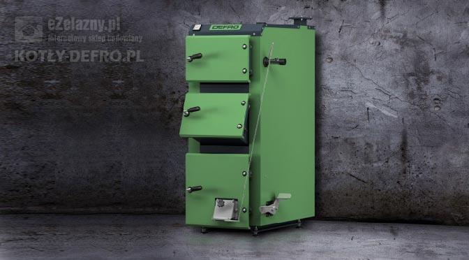 Kocioł Defro zielony
