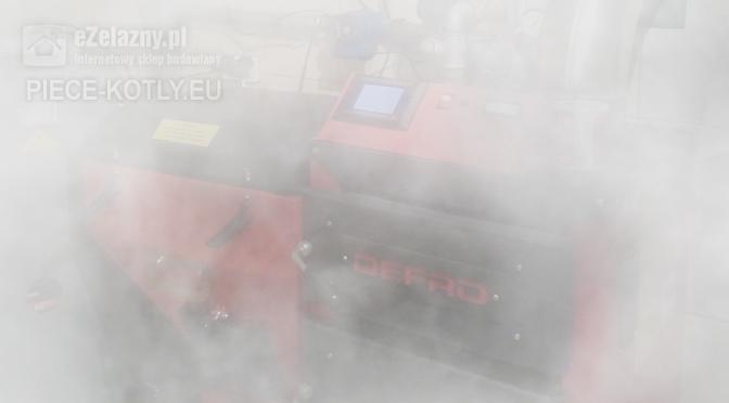 Dym z kotła Defro