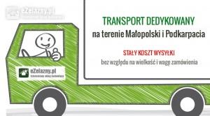 Transport dedykowany w sklepie eZelazny.pl