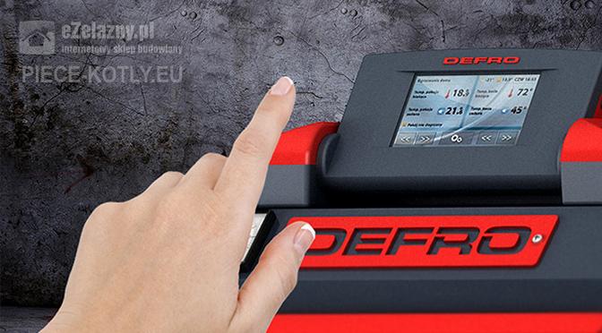 Obsługa pieca Defro z automatycznym podajnikiem